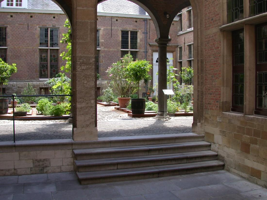 Tuin Snyders- & Rockoxhuis te Antwerpen