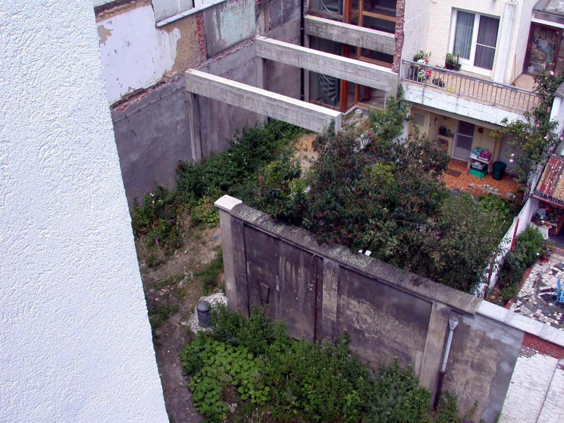 Tuin- en Buitenruimte Ecohuis te Borgerhout (Antwerpen)