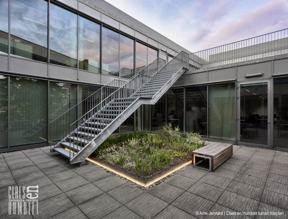 Bedrijfstuin te Mechelen, Telenet HQ